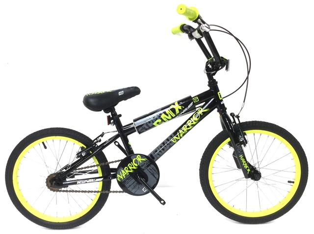 Warrior 18 Boys Bmx Bike